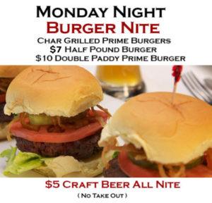Monday Night Burger
